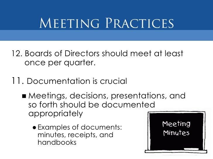 Nonprofit Board of Directors Best Practices