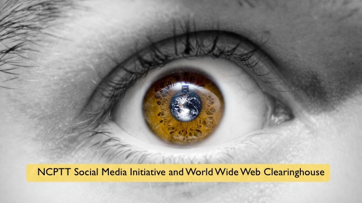 NCPTT Social Media Initiative and World Wide Web Clearinghouse
