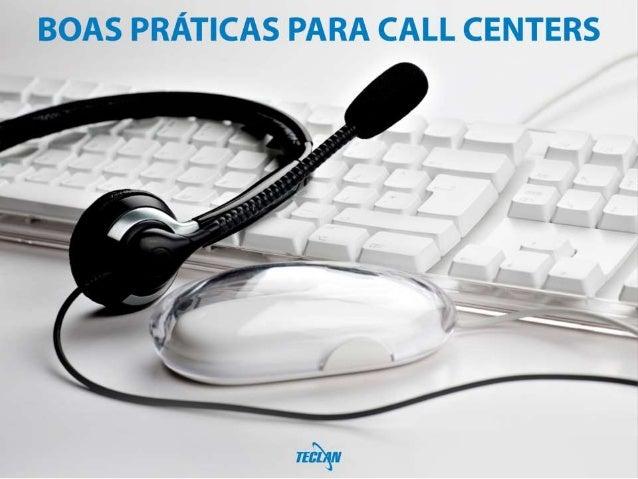 Boas Práticas Para Call Centers