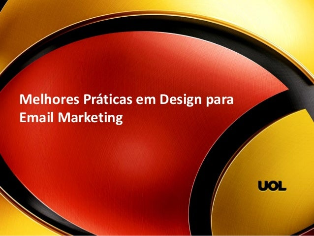 MelhoresPráticasemDesign para Email Marketing
