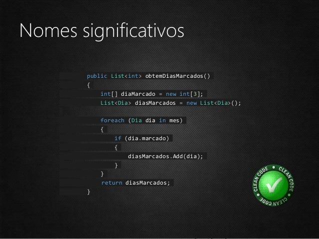 """Nomes significativos class DtaRcrd102 { private DateTime gerdmahms; private DateTime moddmahms; private string pszqint = """"..."""