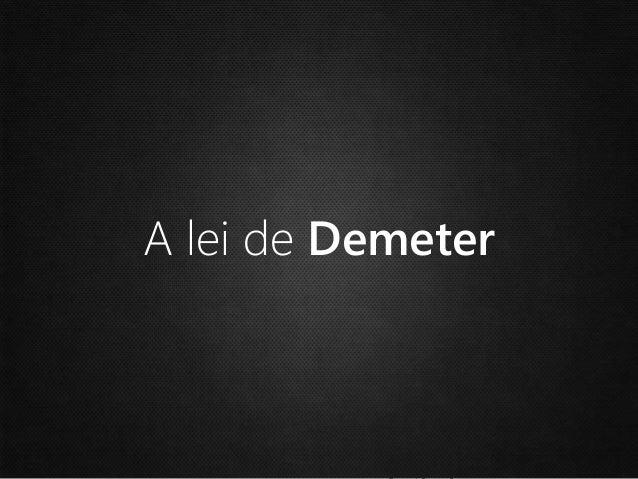 Demeter Law C M