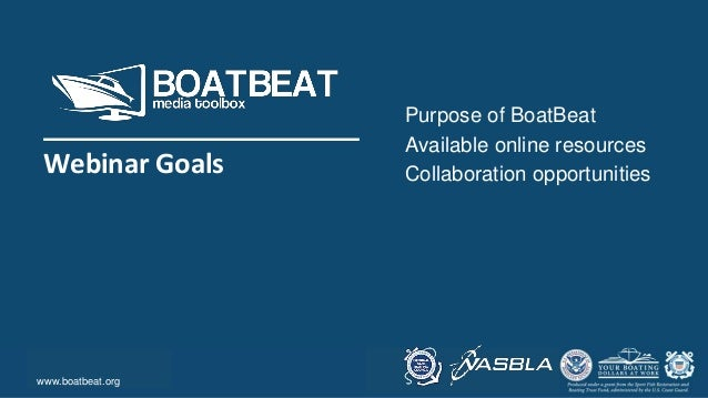 Body Level One Body Level Two Body Level Three Body Level Four Body Level Five Purpose of BoatBeat Available online resour...
