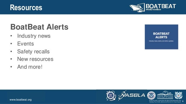 Body Level One Body Level Two Body Level Three Body Level Four Body Level Five 8 Resources BoatBeat Alerts • Industry news...