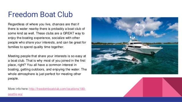 Boat Club Seattle, WA