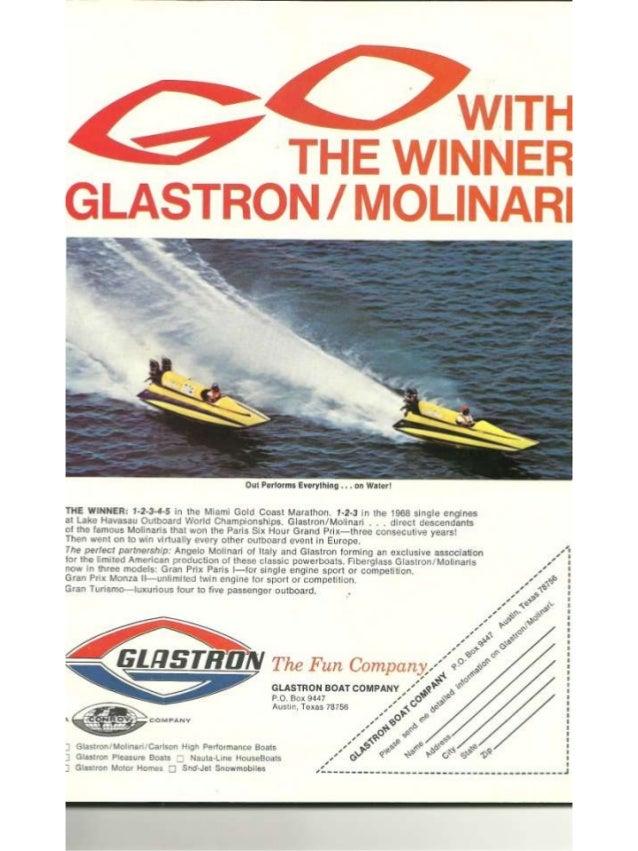 Vintage Power Boat Racing Program Havasu 1967 Slide 3