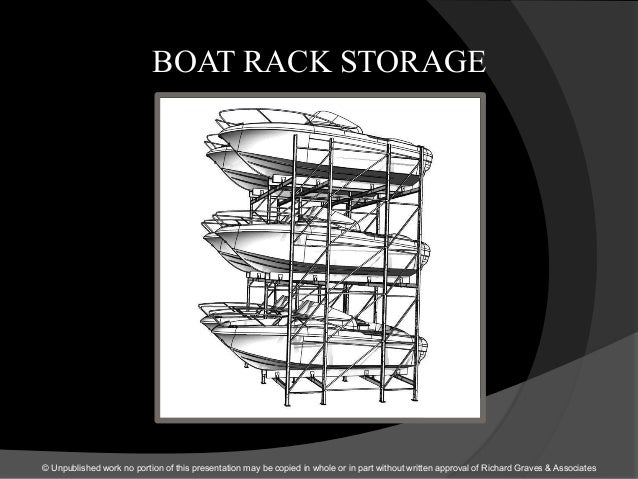 BOAT RACK STORAGE © Unpublished work no portion of this presentation may be copied in whole or in part without written app...