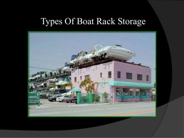 Boat Rack Storage 2013