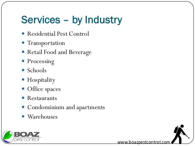 Boaz Pest Control Services Company Profile