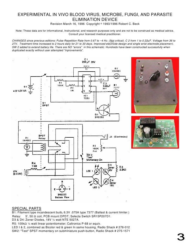 Bob Beck Schematic - Trusted Wiring Diagram • Radionics Schematics on bob beck schematics, machine schematics, simple radio schematics, pink noise generator schematics, hidden blade schematics, circuit board schematics, magnetic generator schematics, ufo schematics,
