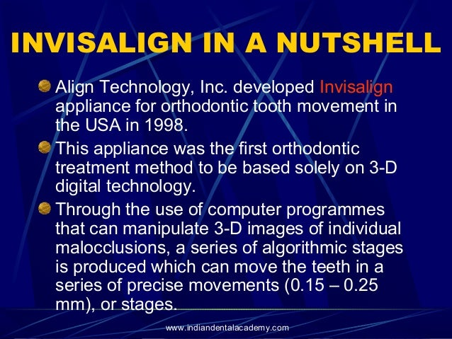 Invisalign /certified fixed orthodontic courses by Indian dental acad…