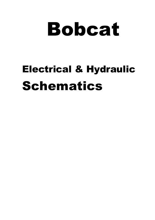 Bobcat Hydraulic Schematic - Wiring Diagram Img