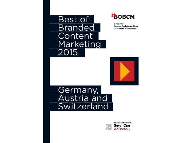 1 2 3 4 5 6 Preface: Branded Content Made in Germany, Austria and Switzerland Introduction: The Rising Importance of Brand...