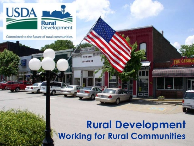 Rural DevelopmentWorking for Rural Communities