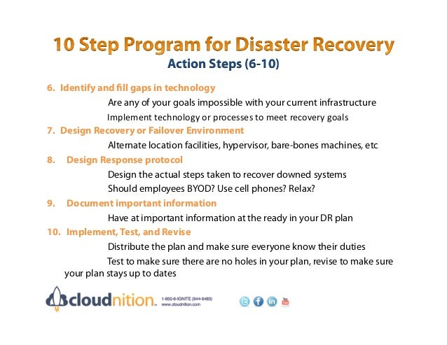 Construction of a Disaster Recovery Plan with Business Only Broadband – Disaster Recovery Plan Template