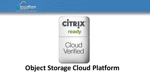 Object Storage Cloud Platform