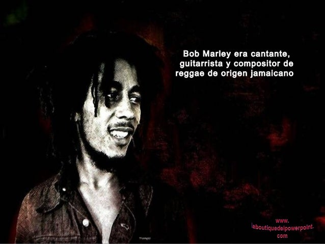 Bob marley Slide 2