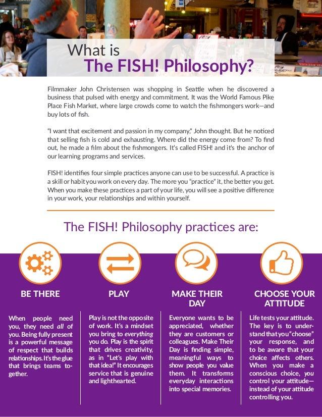Bob phillips 39 fish philosophy customer service information for Fish customer service