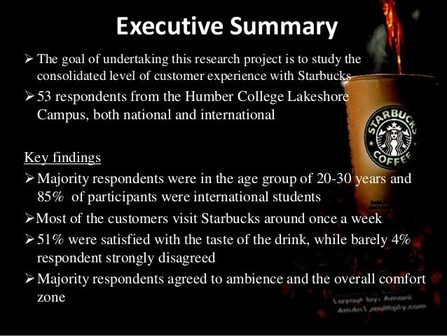 Executive Summary The goal of undertaking this research project is to study theconsolidated level of customer experience ...