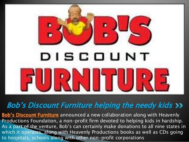 Bob S Discount Furniture Helping The Needy Kids