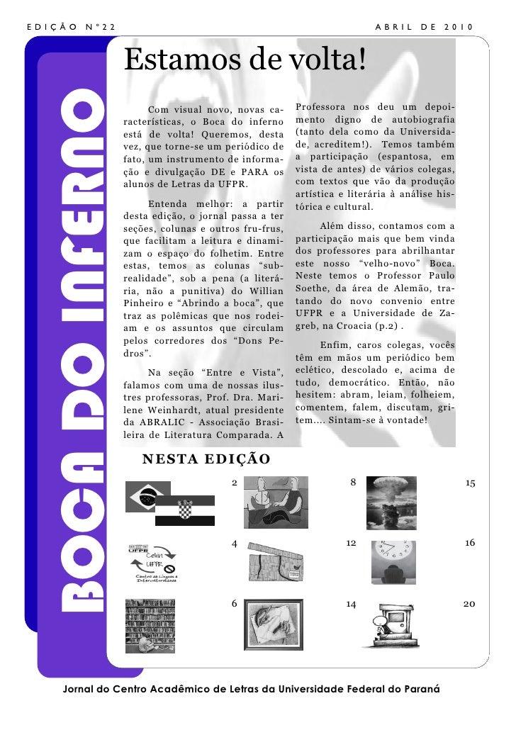 Boca Do Lobo S Inspirational World: Boca Do Inferno Número 22