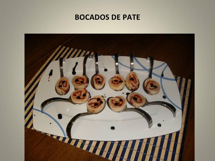 BOCADOS DE PATE