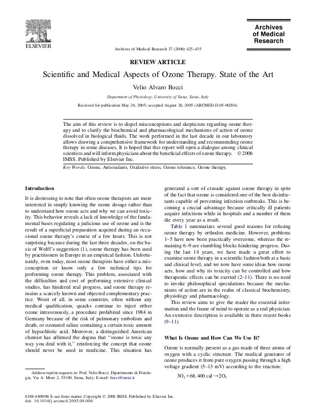 Archives of Medical Research 37 (2006) 425–435                                                              REVIEW ARTICLE...