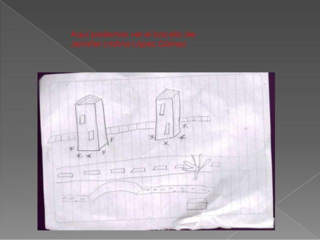 Aquí podemos ver el boceto de Jennifer cristina López Gómez
