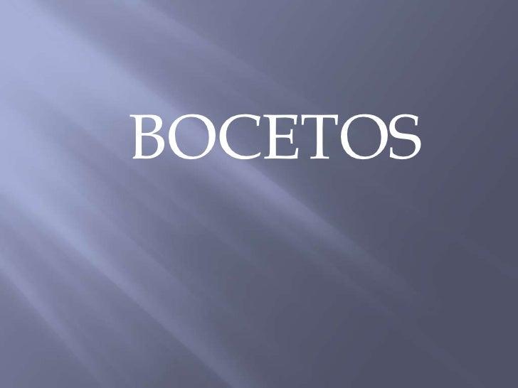 BOCETOS<br />