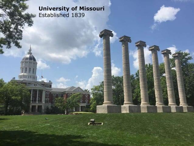 @isaja University of Missouri Established 1839