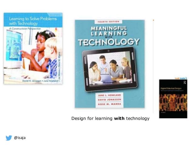@isaja Design for learning with technology