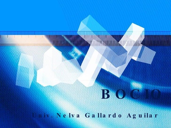 BOCIO Univ. Nelva Gallardo Aguilar