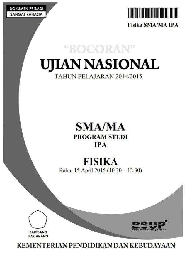 Bocoran Soal Un Fisika Sma 2015 By Pak Anang Blogspot Com