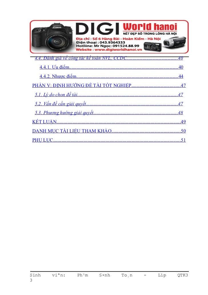 Báo cáo thực tập tốt nghiệp chuyên ngành kế toán Slide 3