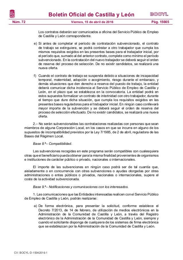 Orden emp 287 2016 contrataci n temporal de desempleados for Oficinas de trabajo temporal