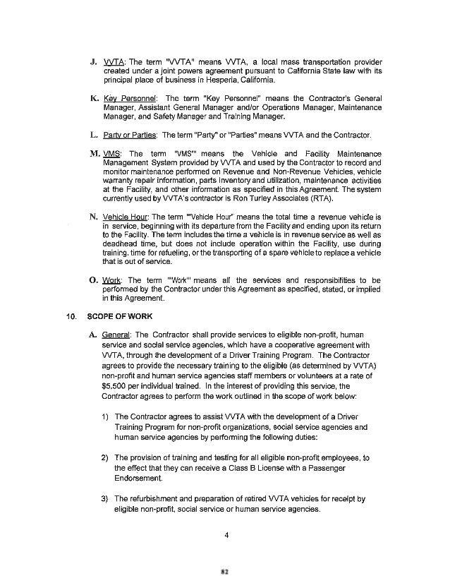 VVTA Board Of Directors Meeting Agenda - April 20, 2015