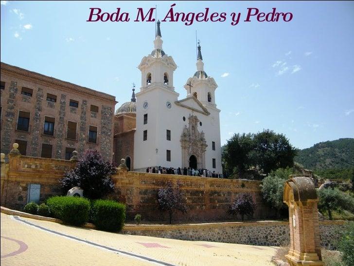 Boda M. Ángeles y Pedro