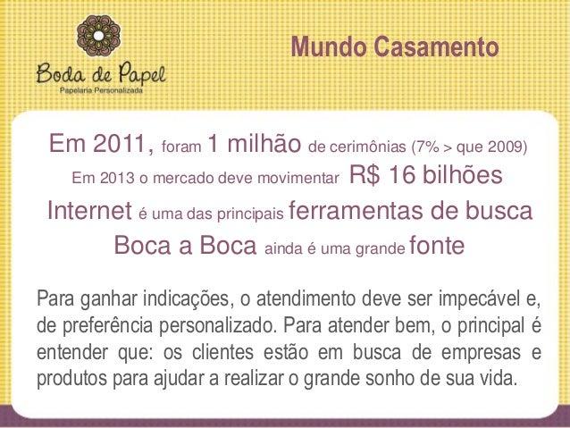 Stakeholders Primário » Clientes » Cerimonialistas Secundário » Gráficas » Parceiros o Carneirando – fornece materiais de ...