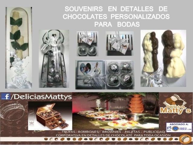 SOUVENIRS EN DETALLES DE CHOCOLATES PERSONALIZADOS PARA BODAS