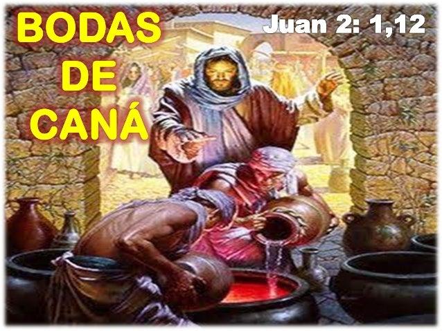 LAS BODAS DE CANÁ DE GALILEA Slide 3