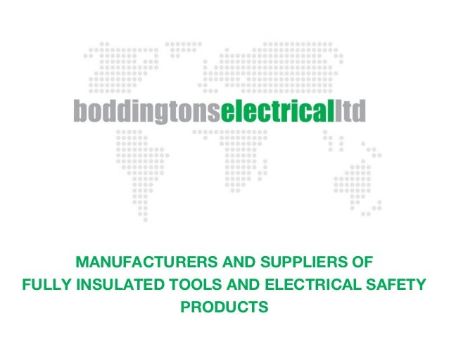Boddingtons Electrical Cable Jointing Tools Amp Safety Eqpt