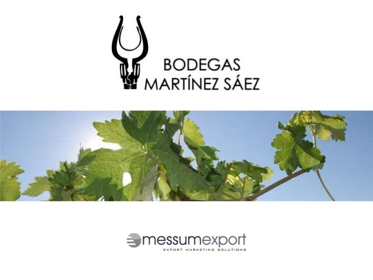 BODEGAS MARTINEZ SAEZOne Man's VisionForming part of the Denomination of Origin of LaMancha and situated in the San Josées...