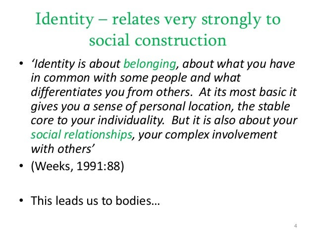social constructionism Psychology definition of social constructionism: social constructionism is associated with post-modernism when any knowledge of reality is in fact a construct of.