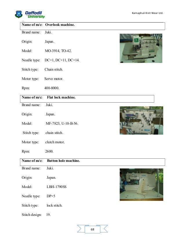 Juki mf 7823 manual