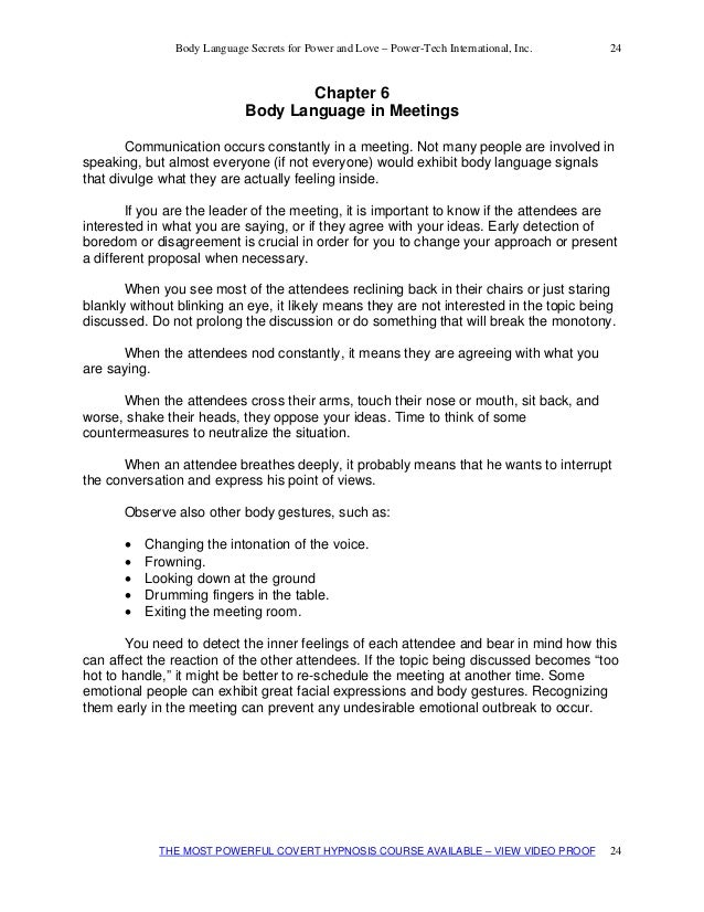 flirting moves that work body language test pdf template download