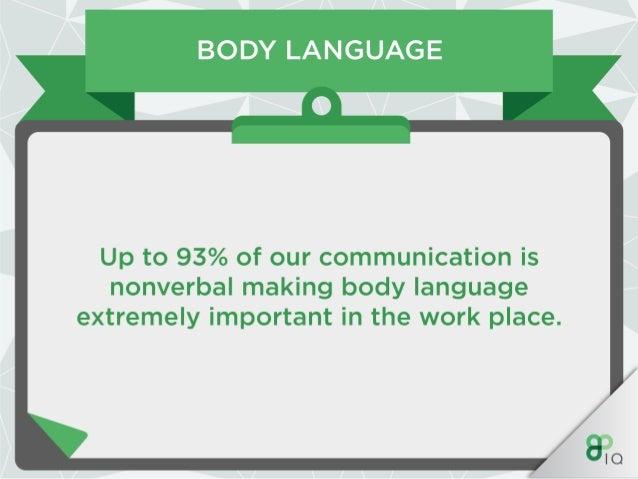 Work Hacks : Body Language Slide 2