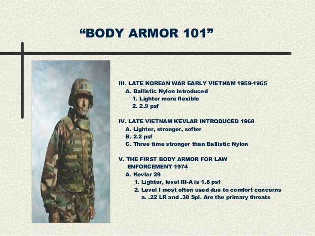 Body Armor 101 - All You Need to know
