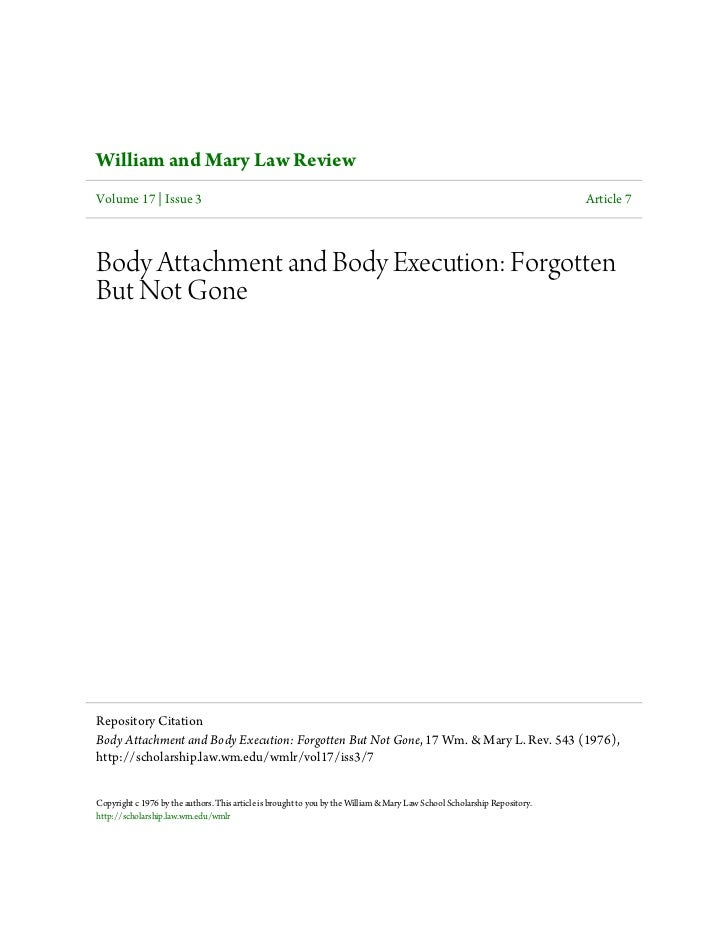 William and Mary Law ReviewVolume 17 | Issue 3                                                                            ...