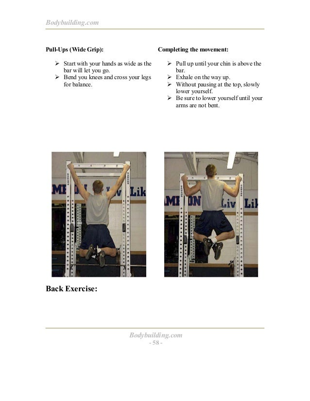 Bodybuilding personal trainer program