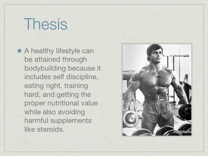 a good thesis statement for healthy lifestyle